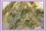 Esparrago tempura